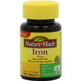 best iron supplement nature made